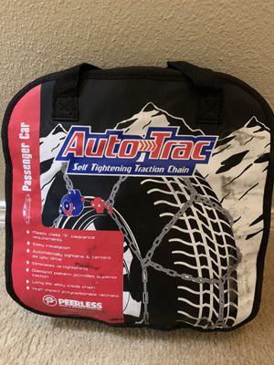 Tire chain ( self tightening traction chain) for Sale in Bellevue, WA