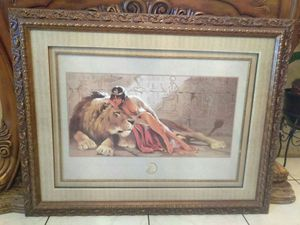 Frame with picture for Sale in Orlando, FL