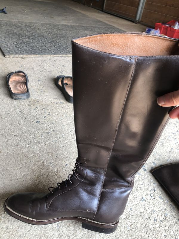 Nine West fashion riding field boots women's size 9m
