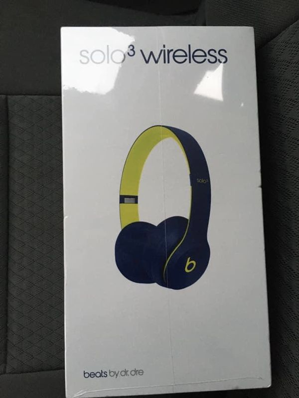 Solo 3 Pop Índigo Beats Headphones