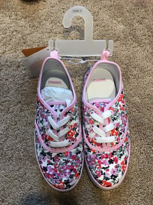 Brand new Gymboree girls sneakers size 1 & 2 for Sale in Aldie, VA