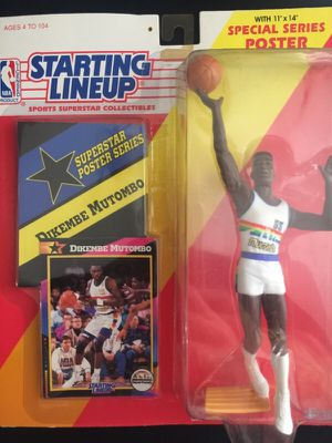 Action Figure Starting LineUp Mutombo for Sale in San Diego, CA