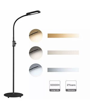 AUKEY 8W LED Floor Lamp, 3 Color Temperatures & 20 Dimmable Brightness Eye Care (New) for Sale in Los Angeles, CA