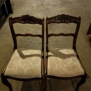 2 Antique Dining Chairs for Sale in Nashville, TN