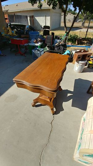 Antique Card Table for Sale in Nuevo, CA