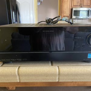 Speakers and remote. Works perfect! Lightly used. Sony STR-DN1000 7.1-Channel Audio Video Receiver (Black for Sale in Visalia, CA