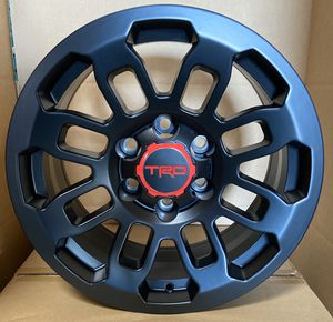 "Set of (4) 17"" TRD Pro style (6x139) fits Toyota Tacoma, FJ Cruiser, 4Runner for Sale in Chula Vista, CA"
