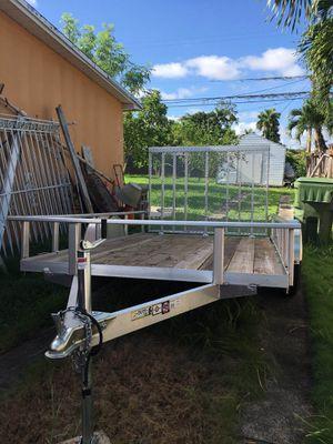 2020 aluminio trailer 10×6 for Sale in Homestead, FL