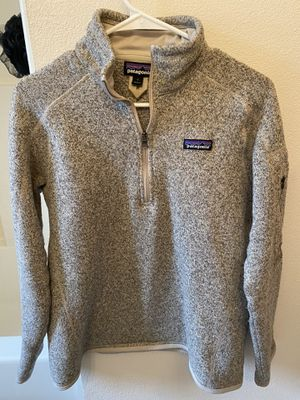 Patagonia womens better weather sweatshirt 1/4 zip for Sale in Bonney Lake, WA