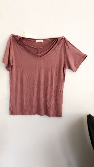 Rose Pink V-Neck Shirt for Sale in Los Angeles, CA