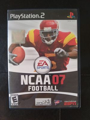 NCAA Football 2007 (PS2) for Sale in Okatie, SC