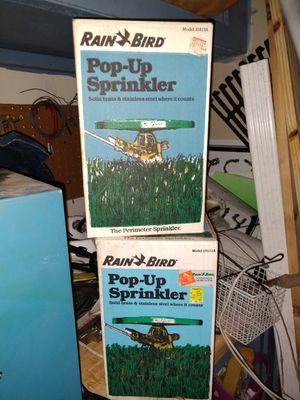Rainbird pop-up sprinkler heads for Sale in Fenton, MI