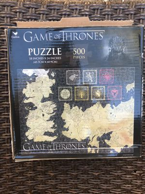 Brand new GAME OF THRONES puzzle 500 piece for Sale in Tyler, TX