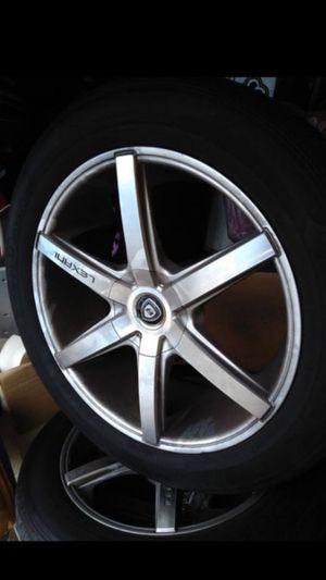 20 inch wheels. for Sale in Riverside, CA