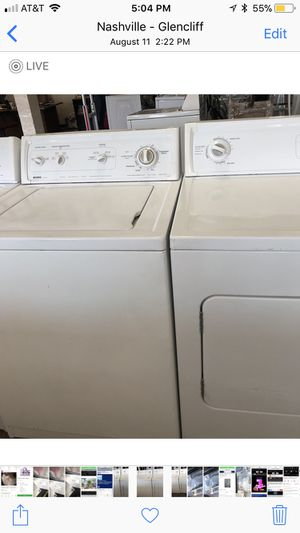 washer and dryer set for Sale in Murfreesboro, TN