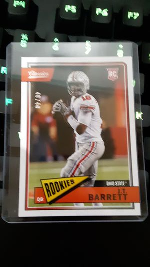 J.t. barrett green back rookie card! 40/40 for Sale in Young, AZ
