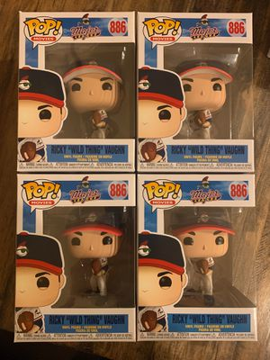 Funko Ricky 'Wild Thing' Vaughn pop for Sale in Kenmore, WA