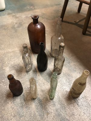 Collectable glass bottles for Sale in Louisville, KY