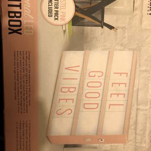 Personal Led Light Box Pastel Pink for Sale in Upper Marlboro, MD