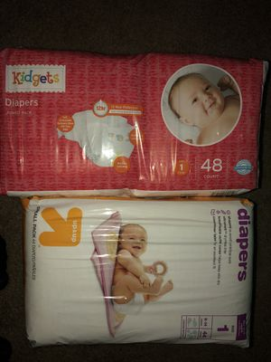 Diapers size 1 for Sale in Highland, CA