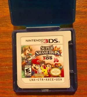 Super Smashbro's for Nintendo 3DS for Sale in Bloomingdale, IL