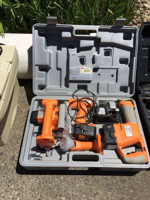 18 volt Chicago Electric cordless tools for Sale in Portland, OR