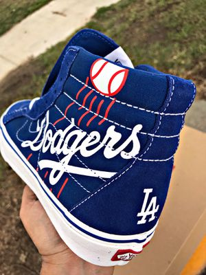 Reissue MLB (baseball) Los Angeles Dodgers Hi Tops for Sale in South Gate, CA