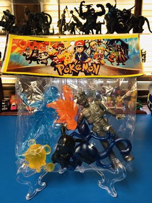 Anime pokemon bootleg gummy figures new 6 pcs set for Sale in Lawndale, CA