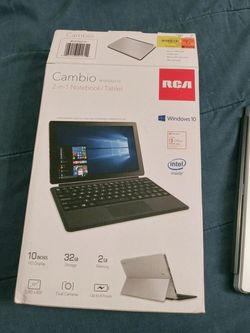 RCA. Tablet 10 inches. Windows 10 ... Like new out of the box only used ones .... for Sale in Fresno,  CA