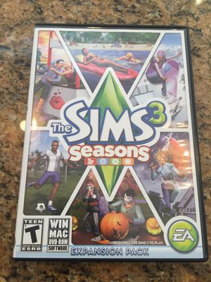 The sims 3 seasons expansion pack for Sale in Saco, ME