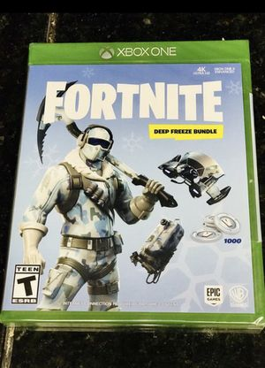 Fortnite deep freeze bundle for Sale in Columbus, OH
