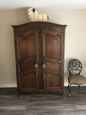 Large armoire for Sale in Newport Beach, CA