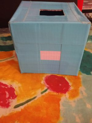 Tissue Box/Handmade.Please buy it. Pick up only. for Sale in Los Angeles, CA