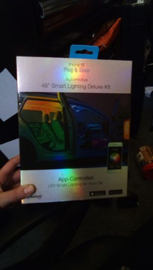 "Type S Plug & Glow Automotive 48"" Smart Lighting Deluxe Kit for Sale in Wilmington, CA"