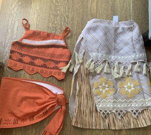 Disney store girls moana costume 5/6 for Sale in Poinciana, FL