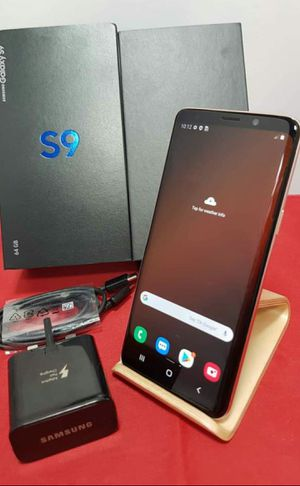 SAMSUNG Galaxy S9, Factory Unlocked..( Almost New Condition) for Sale in Springfield, VA