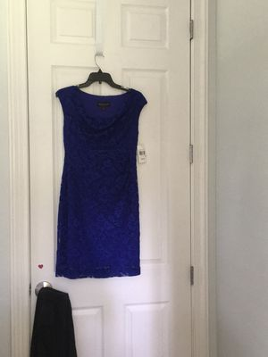 NWT Connect women's Dress sz 6P royal blue lace PROM FORMAL WEDDING for Sale in Jacksonville, FL