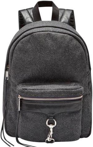 Rebecca Minkoff Wool grey backpack for Sale in Arlington, VA