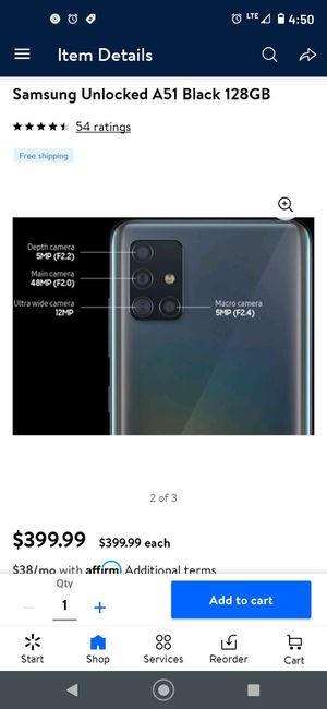 Samsung Galaxy A51 for Sale in Vista, CA