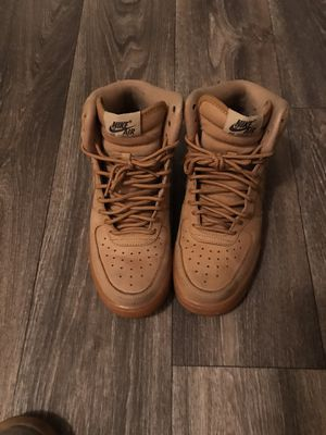 Nike Air Force wheat brown and dark red for Sale in Las Vegas, NV