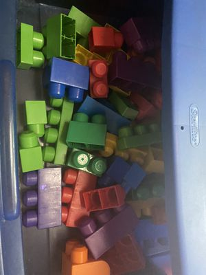 Three drawer box of blocks for kids for Sale in Litchfield Park, AZ