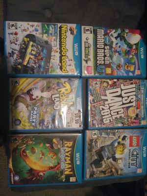 Wii u games for Sale in Fort Worth, TX