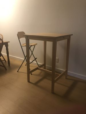 Wooden Bar Table for Sale in Austin, TX