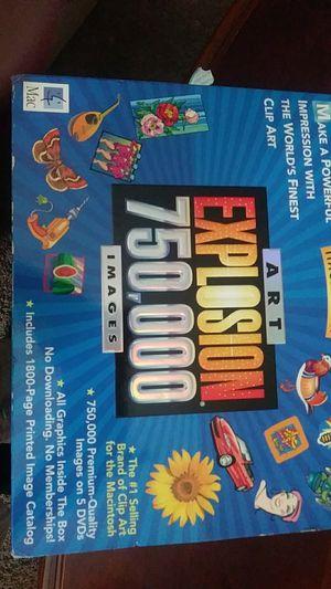 Macintosh art explosion750,000 images for Sale in Winston-Salem, NC