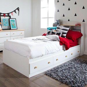 Twin storage bed w/headboard for Sale in LEWIS MCCHORD, WA