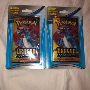 Pokemon Dragon Majesty Booster Packs for Sale in Oxnard, CA
