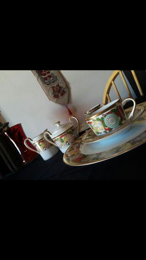 Christian Dior Christmas fine china for Sale in Phoenix, AZ