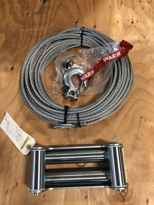 Winch cable 125feet with fairlead for Sale in Los Angeles, CA