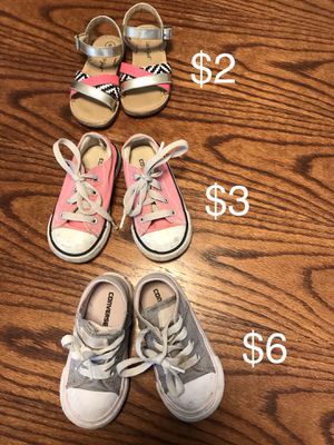 Used Size 6c Toddler Shoes for Sale in Long Beach, CA