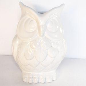 White Owl Ceramic Holder for Sale in Boynton Beach, FL
